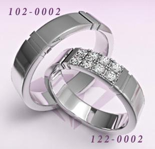 Обручальные кольца 112-0087(Ж),102-0087(М)