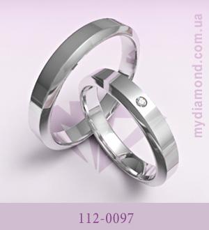 Обручальные кольца №122-0090 и №112-0096 образец классических обручальных  колец, вся их красота — в простоте и лаконичности. 17211a67a98